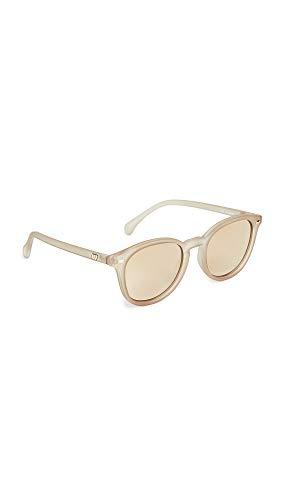 Le Specs Damen Sonnenbrille Bandwagon Matte Stone