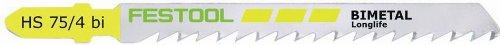 Festool 486553–75/4Jig Saw Messer HS/5