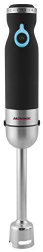 GASTROBACK #40975 Design Stabmixer Advanced Pro, leistungsstarker Stabmixer (800 Watt) aus Edelstahl mit umfangreichem Zubehör, Blau, D x H: 65 x 400 mm