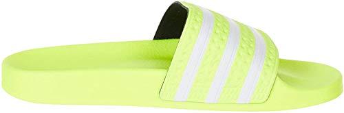 adidas Herren Adilette Aqua Schuhe, Mehrfarbig (Solar Yellow/FTWR White/Solar Yellow Ee6182), 39 1/3 EU