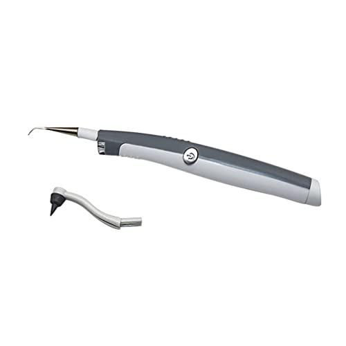 LIXBD Hydropulseur portatif sans fil pour nettoyage des dents - Irrigateur buccal rechargeable pour les voyages et la maison - Couleur : blanc