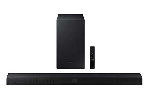 SAMSUNG HW-T550 Soundbar with Dolby Audio, 3D Surround Sound (HW-T550/ZA) (Renewed)