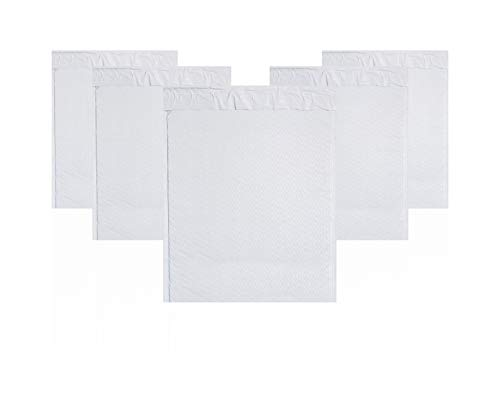 Amiff Pack of 10 White Poly Bubble Mailers 14.25 x 19 Bubble Padded Envelopes 14 1/4 x 19. Large Poly Cushion Envelopes. Poly Mailer Bags. Peel and Seal. Mailing, Packaging, Shipping.