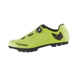 Catlike Zapatillas MTB Whisper Oval Verde Flúor - Talla: 43