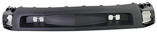 Valance for Chevrolet Silverado 2500 HD/3500 HD 07-10 Front Lower Deflector Textured Black