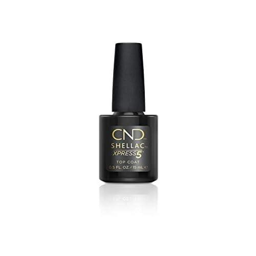 CND Shellac Smalto per Unghie, Xpress 5 Top, 15 ml