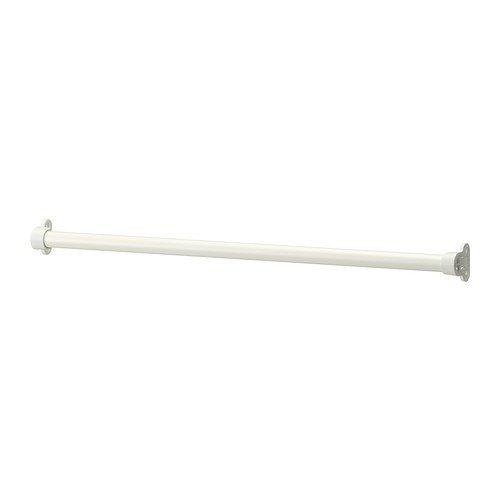 IKEA KOMPLEMENT - Kleiderstange, weiß - 70 cm