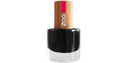 ZAO Nagellack 644 schwarz mit Bambus-Deckel (Naturkosmetik)