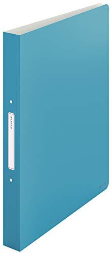 Leitz Ringbuch, 190 Blatt, 32mm Rückenbreite, Sanftes Blau, A4, Cosy-Serie, 42380061
