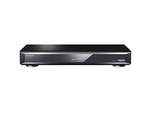 Panasonic DMR-UBT1EC-K Registratore / Lettore Blu-Ray Ultra HD 4K PRO HDR, Processore HCX, Doppio sintonizzatore, HDMI, Internet apps, Wireless Lan Built-In, Nero