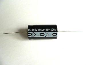 Jellyfish Audio 100uF 450V 105C Axial condensador Hi-Fi Audio amplificador de válvula...
