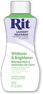 Rit Dye Bulk Buy Liquid 8 Ounces Whitener and Brightener 8-50 (3-Pack)