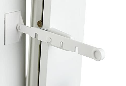 La-Melle. print your style. Katzenschutz Kipp-Regler • Klemmträger zum Einstellen der Fensteröffnung • 4 Stufen • Kippfenster mit kleinem Spalt lüften