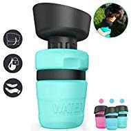 Pet Water Bottle for Dogs, Dog Water Bottle Foldable, Dog Travel Water Bottle, Dog Water Dispenser, Lightweight & Convenient for Travel BPA Free
