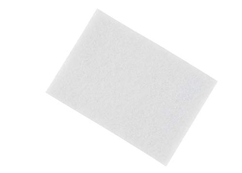 3M (TM) Scotch-Brite (TM) 7445 Hand Pads Light Cleansing White Comparable to 0000 Steel Wool 6 Inch x 9 Inch… (3)