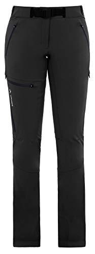 VAUDE Pantalon Badile Pants II pour Femme - Noir uni - 44 -Long