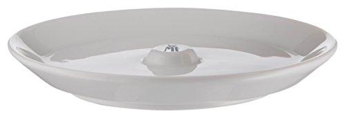 WMF Barista Unterteller/ Untertasse 14,3 cm für Barista Tassen und Gläser, Latte Macchiato Glas, Kaffeeglas, Porzellan, spülmaschinengeeignet