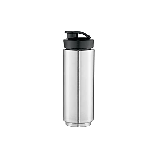 WMF Kult X Mix & Go / Küchenminis Trinkflasche, 600 ml, mit Keep Cool Funktion, Thermo Mixbehälter, Edelstahl, cromargan