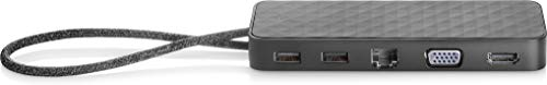 HP USB-C Mini Dock, Negro