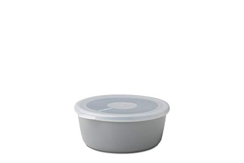 Mepal Vorratsdose Volumia 500 ml, Melamine, Grau, 15.8 x 15 x 6.2 cm