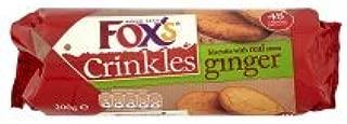 fox's ginger crinkles