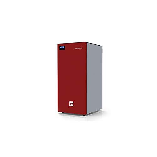 MCZ S.p.A. - red Pelletheizkessel Performa 20 Easy Clean (20,5 kW) mit Selbstreinigungssystem
