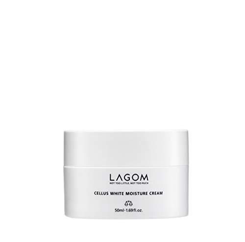 Crema hidratante iluminadora Lagom White Moisture Cream | Cosmética Coreana |Con células...