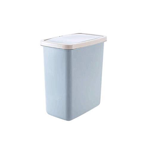 TJLMZ Cubo de Basura pequeño Contenedor de Basura de Cocina con Tapa, Papelera de Basura (Color : D)