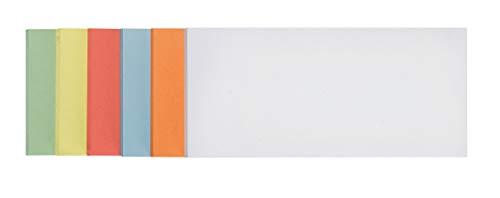 Franken UMZS102099 Moderationskarten selbstklebend, 300 Stück, sortiert