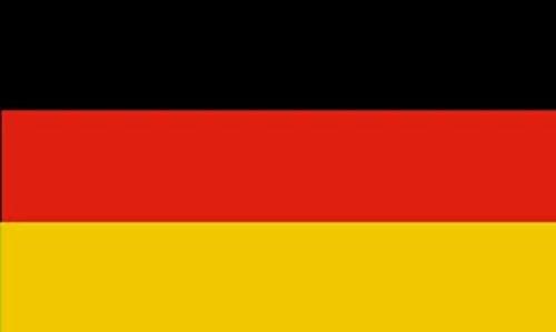 U24 Aufkleber Deutschland Flagge Fahne 8 x 5 cm Autoaufkleber Sticker
