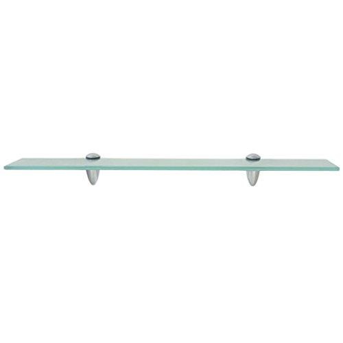 SOULONG Estante de cristal, estante flotante de cristal, estante de pared para baño, estante de pared de cristal