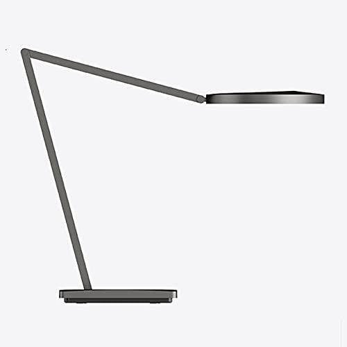 zlw-shop Lámpara de Escritorio LED 24W Dimmable Desk Light Brazo Largo Protección de Ojos Luz de Lectura con luz cálida y fría, 7 Nivel de Brillo, Interruptor táctil