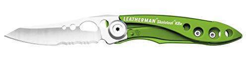 Leatherman LT832615 SKELETOOL KBx NAVAJAS, Coyote Braun