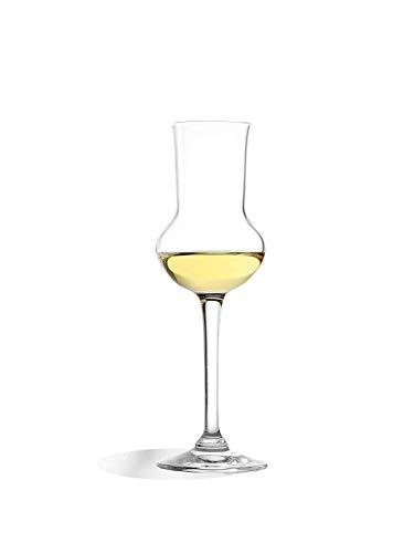 Stölzle Lausitz Grappaglas 6er Set, 87ml, Bar und Liqueur, wie mundgeblasen, spülmaschinenfest, Premiumqualität