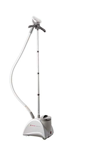 SINGER SteamWorks Pro White 90 Minutes of Steady Steam Output, 1500 Watts, and 2.5L of Tank Capacity Garment Steamer