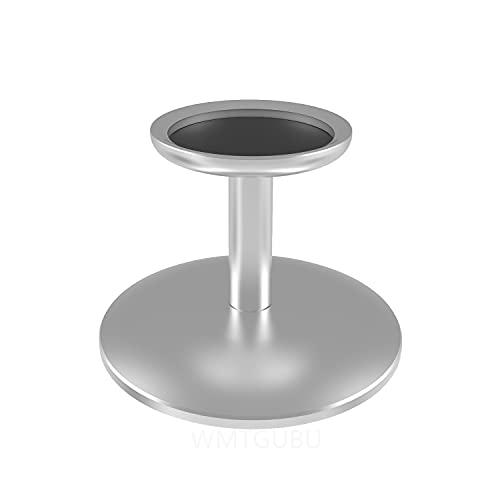 WMTGUBU - Soporte de base para altavoz Apple HomePod Mini, soporte de protección HomePod Mini, antideslizante, base de aleación de aluminio para Apple Homepod Mini accesorios, color plateado