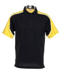 Formula Racing Monaco Formula Racing ® Polo noir/ jaune/ blanc L