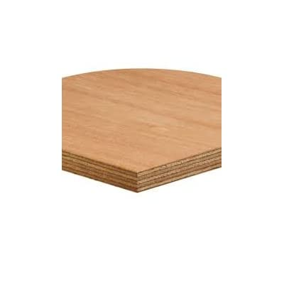 18mm Thick 1220mm x 1220mm Plywood Hardwood Exterior Faces Eucalyptus 4 foot x 4 foot