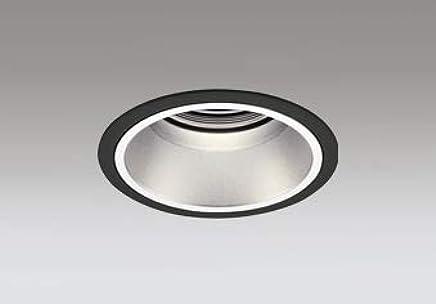 ODELIC LEDベースダウンライト グレアレス CDM-T70W相当 ブラック?銀色 34° 埋込穴Φ125mm 電球色 3000K M形 一般型 専用調光器対応 XD402411 (電源?調光器?信号線別売)