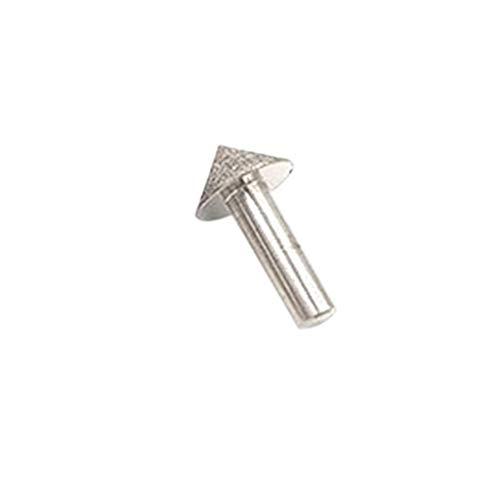 KunmniZ Electroplated Diamond 20-50mm Cone Chamfer Grinding Head Stone Glass Chamfering DIY Hobby