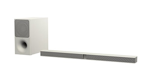Sony HT-CT291 2.1 Kanal Soundbar (300W, Bluetooth, HDMI , kabelloser Subwoofer) cremeweiß