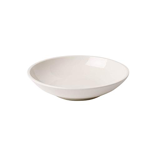 Villeroy und Boch - Artesano Original Pastaschale, tiefer Teller für Nudelgerichte oder Suppen, Premium Porzellan, weiß, 23,5 cm