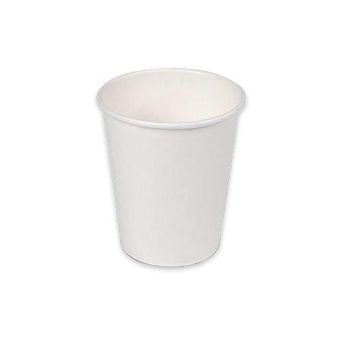 Soul Forest - Vasos Reciclables de Cartón 250 ml - Pack de Vasos Desechables Biodegradables para Agua, Zumo, Refrescos y Café con Leche - 50 Unidades