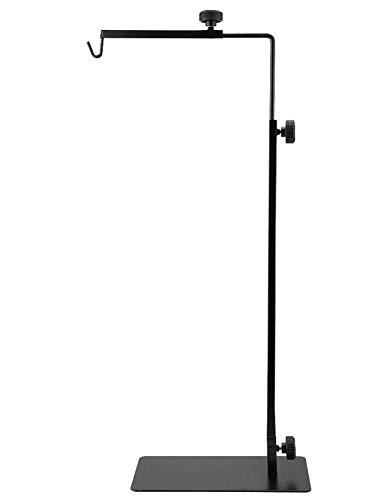SHOH Lampfitting voor schildpadverwarming, in hoogte verstelbaar, lampstatief voor reptielieverwarming, lampenkap voor reptieliekippen, huisdierbroodapparaat, zonder gloeilamp, hoogte 38-64 cm