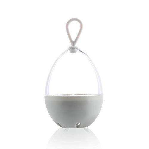 N-B Cubierta Transparente Creativa Antimoho Estante de Secado Esponja cosmética portátil Caja de Almacenamiento de plástico
