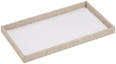 10 Trays Pads Jewelry Max online shopping 75% OFF Inserts Liners 1 Linen Organizer Display
