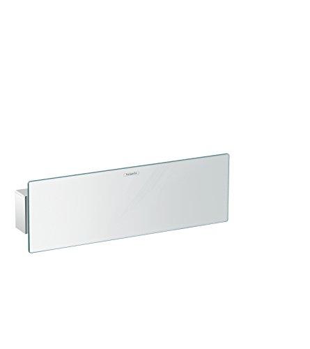 hansgrohe FixFit Schlauchanschluss (300 mm, mit Duschkopfhalter und Duschablage) Chrom