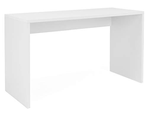 expendio Schreibtisch Imke 30 weiß 130x75x54 cm Computertisch Bürotisch PC-Tisch Jugendzimmer Arbeitszimmer