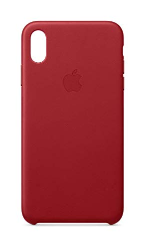 Apple Leder Hülle (für iPhone XS Max) - (Product) RED