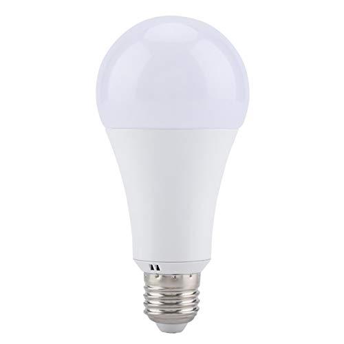 Compatible E27 RGB-CW Light RGB-CW Light Bulb Sin parpadeo RGB-CW Luz multicolor para oficina en casa(RGB-CW, 18W)